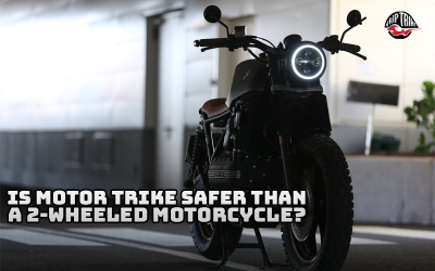 Is Motor Trike Safer Than a 2-Wheeled Motorcycle?